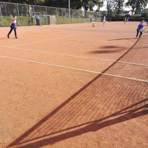 Tennistraining zomer